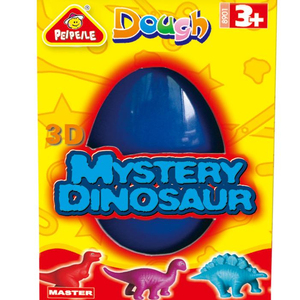 mystery dinosaur 2018 hot sale EN71 ASTM educational toys for kid DIY modeling dough play dough