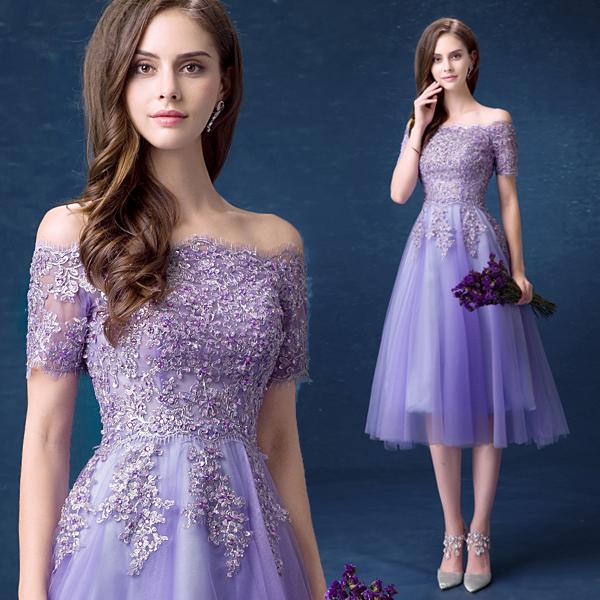 3406a9c508d Detail Feedback Questions about 299 Free shipping Cheap Purple short prom  dresses vestidos de noche largos elegantes de fiesta 2019 on Aliexpress.com  ...