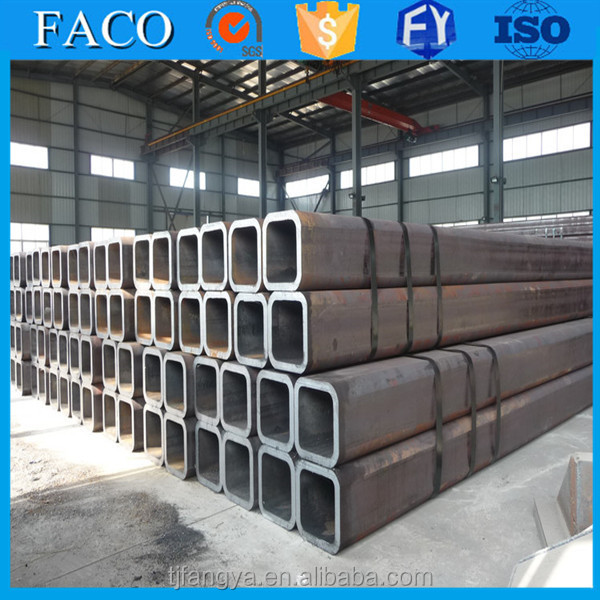 Tianjin square rectangular pipe ! rectangular pipe storage rack male pipe threaded end coupling