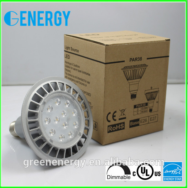 60 degree 80Lm/w dimmable par38 16w UL Energy star listed led par38