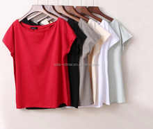 Popular Sexy Women T Shirts /Casual Good Quality soft cotton t-shirts