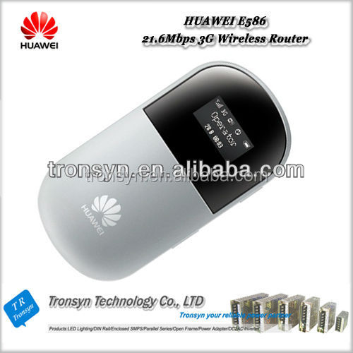 Original Unlock HSPA+ 21.6Mbps E586 3G USB WiFi Router With Sim Card And 3G Pocket Mobile Hotspot