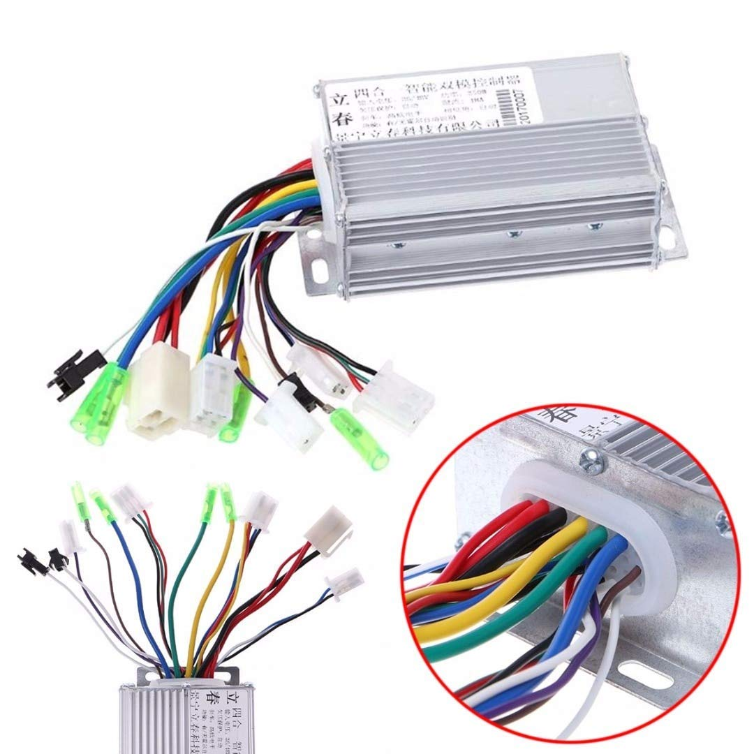 Cheap 36v Brushless Motor Controller Find Buy 1200w Dc 48v 60v 72v Electric Bicycle Get Quotations Vhll 1pc New 350w For E