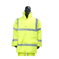 Wholesale High Visibility Waterproof Winter Security Jacket Safety Reflective