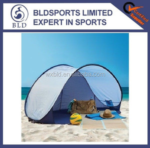 2015 top quality and fashion cheap two man Pop up beach tent