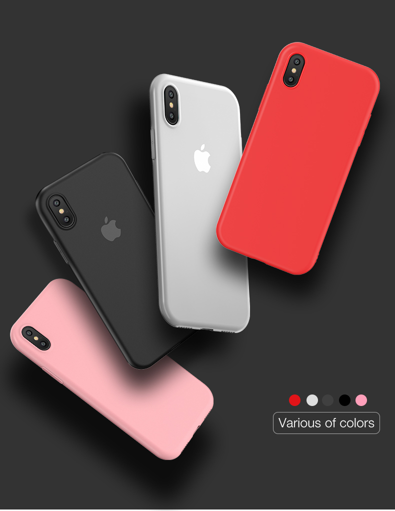 the best attitude d3ce9 124b6 2018 Cafele Mobile Accessories Soft Tpu Phone Case For Iphone X 8 7  Silicone Matte Shell For Iphonex Cover - Buy Soft Tpu Case,Phone Case For  Iphone ...