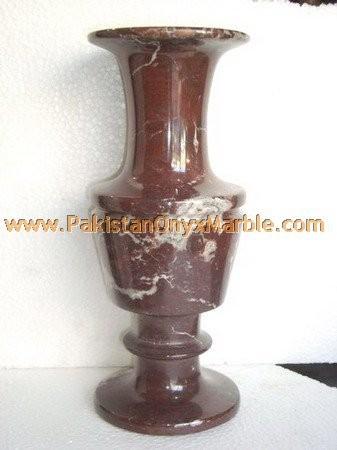 Hot Sale Red Zebra Marble Flower Vases Buy Fine Quality Red Zebra