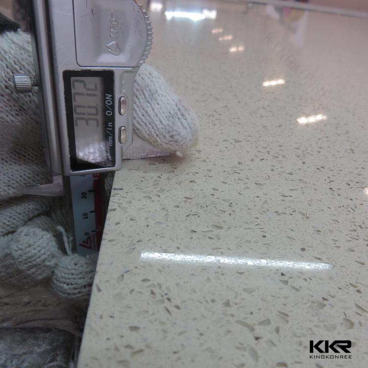 Pure White Quartz Granite Stone Slabs
