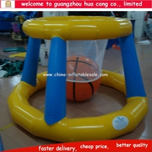 Hot sale lake inflatables water games water inflatable basketball game