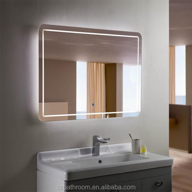 Lighted Led Hotel Vanity Mirror