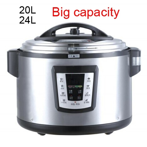 Canton Fair commercial 5L electric pressure cooker with temperature control
