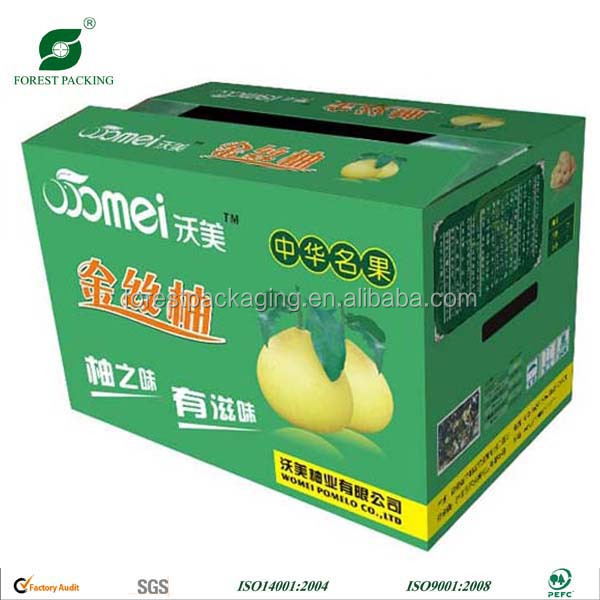 2016 HOT SALE PEAR FRUIT CARTON SHIPPING BOXES CHINE MANUFACTURER
