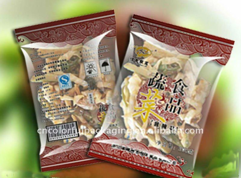 Dry Fruit Plastic or Aluminum foil Wholesale food packing bags