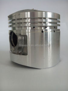 chinese dirt cheap price of three wheel motorcycle parts piston engine kit 56.5mm cylinder wuyang 125