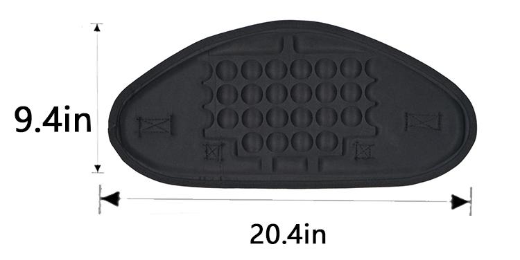2019 Molded Durable eva Inflatable Kayak seat with bag