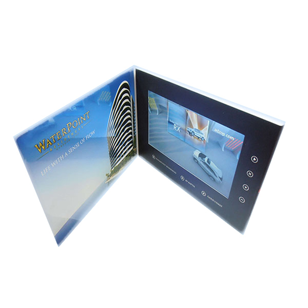 Hot selling Reclame 7 Inch Tft Lcd-kleurenscherm Video Brochure Kaart Video Visitekaartje