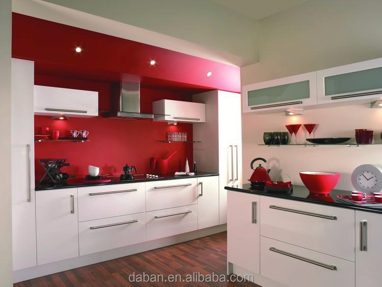 Glanzende afwerking keuken kleine keuken tafel stoelen goed koopje ...