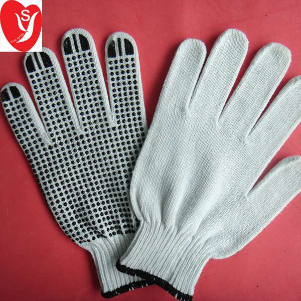 [Gold Supplier] HOT ! Great Protective impact Drill Cloth Dot Gloves
