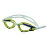 Silicone goggle swimming equipment wide vision swimming goggles for kid
