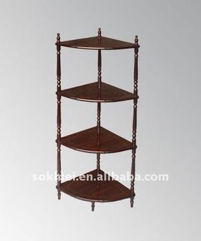 Superior Antique Corner Shelf