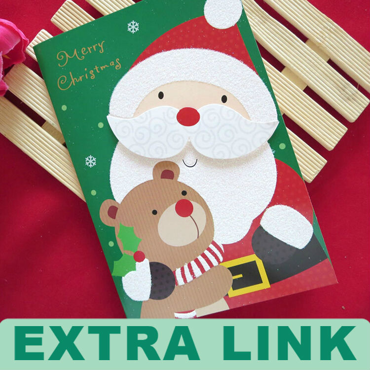 Luxury Funny Unique Luxurious Handmade Flash 3d Blank Christmas Card ...