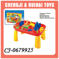 funny summer beach toys plastic sand water play table for kids