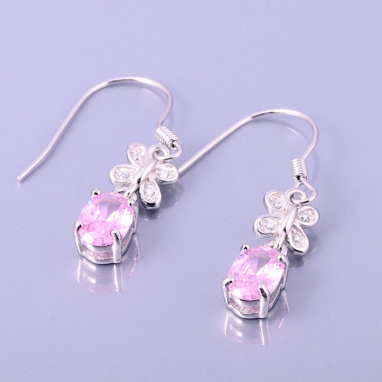 Charming Design with Fashion Sliver Butterfly Jewelry In Ear Rings
