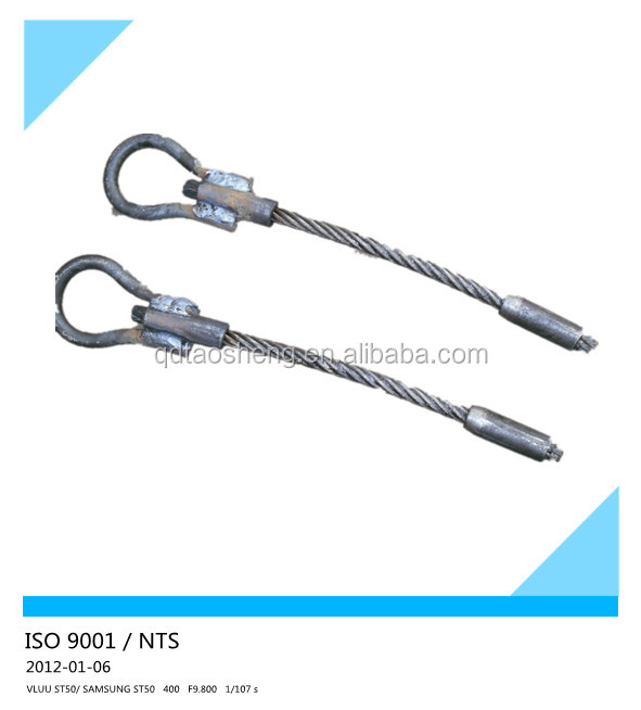 Welded rope eye bolt wire end fitting buy