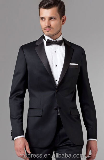 Essential Black Tuxedohandsome Tailoredindian Wedding Suits For Men