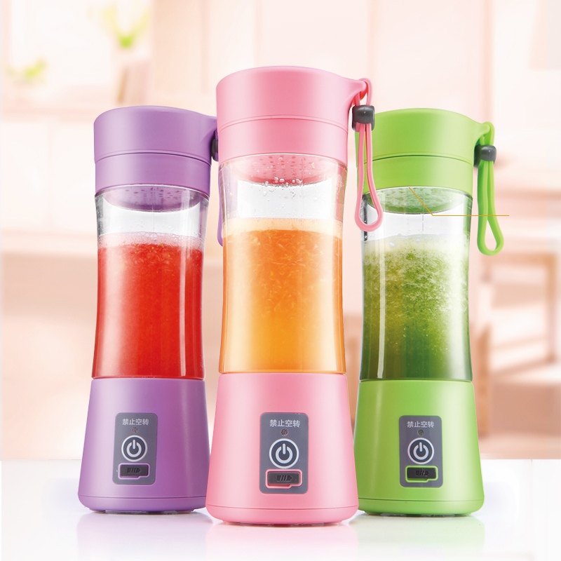 Usb recarregável portátil mini blender smoothies maker