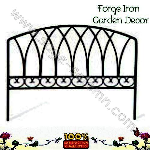 Simple Iron Garden Fence Gr Steel