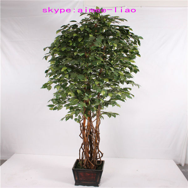 Q082922 Diffe Types Of Plants And Trees Artificial Ficus Bonsai Fake Banyan Tree