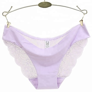 Cheap Fancy Fashionable Sexy Girls Ladies Mid-Rise girls panties Lace Embroidered soft Nylon underwear women panties for Women