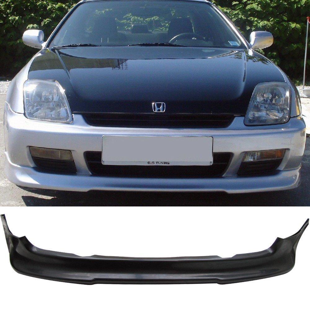 97-01 Honda Prelude 2 Door Sport Style Add-On Front Bumper Lip Spoiler Urethane
