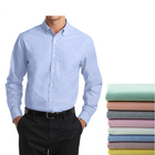 Factory wholesale shirts mens oxford dress shirts