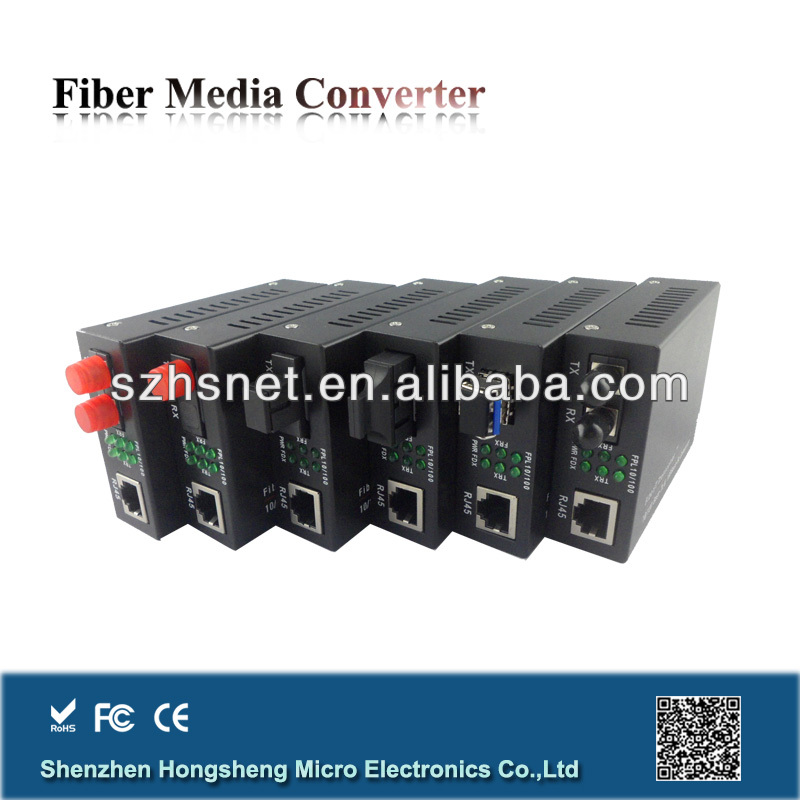 10/100M E1 to Ethernet Optical Converter with Single Mode