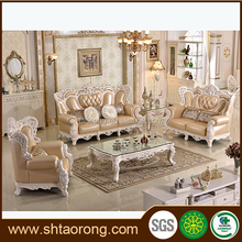 Customized antique European style home sofa set picture furniture