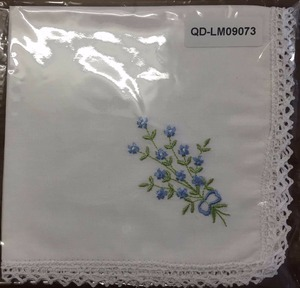 large size organic cotton handkerchief