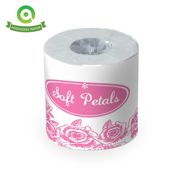 Cheaper price recycled pulp 3ply wholesale bulk toilet paper