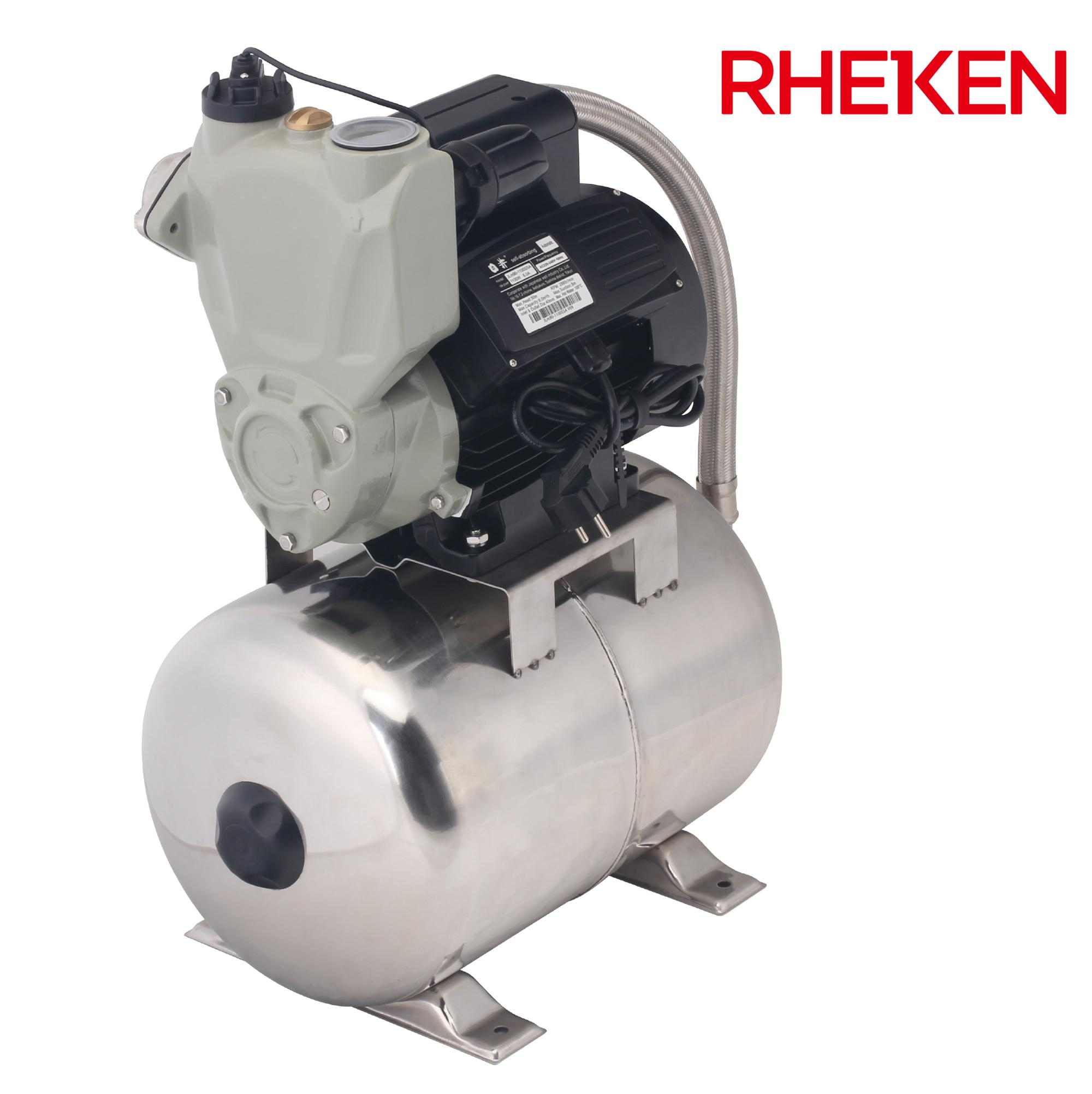 Electric Power Water Booster Machine Household Garden Irrigation Use High Pressure Low Noise Self-priming Jet Pump