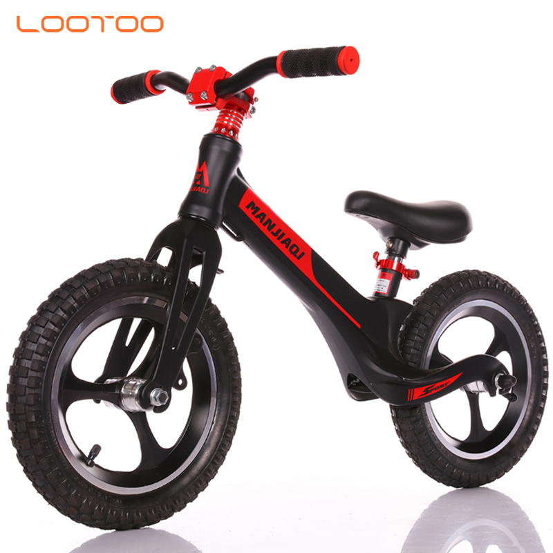 Best custom oem nz au canada plastic toy big kid riding balance bike for toddler ages 18 month old 4 year old pink red