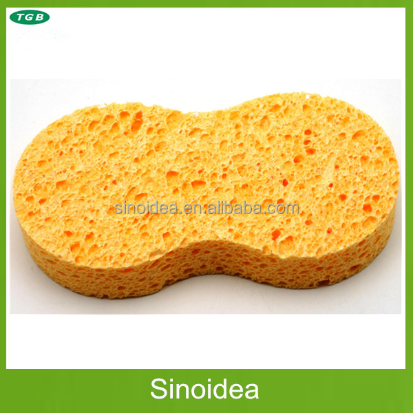 Cellulose cleaning sponge,Kitchen cellulose sponge pad