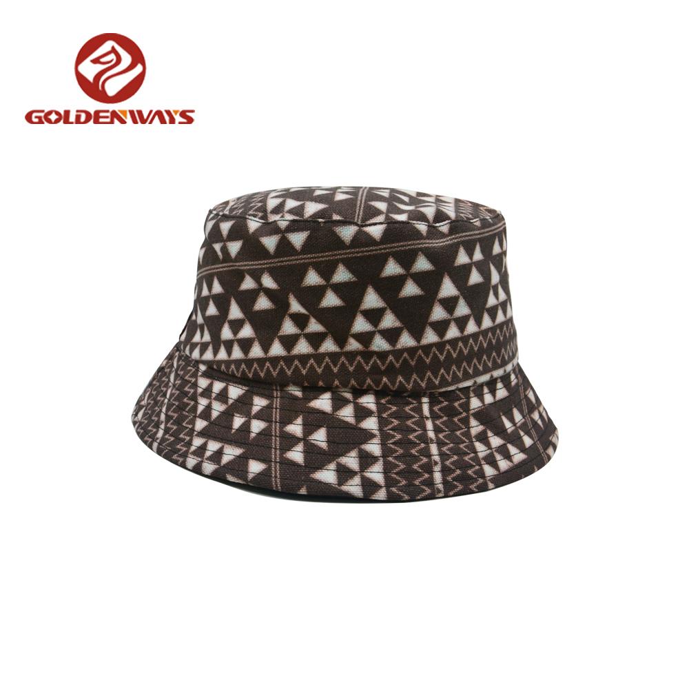 Cheap Wholesale Fold Black And White Short Brim Hemp Bucket Hat ... 14b8bf3ddd0