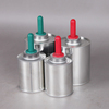 metal can empty tin can with brush lid for paint/pvc/cpvc/upvc cement solvent