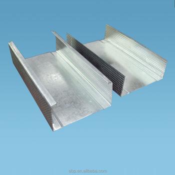 Gypsum Board Galvanized C Channel Plasterboard Metal Frame - Buy ...