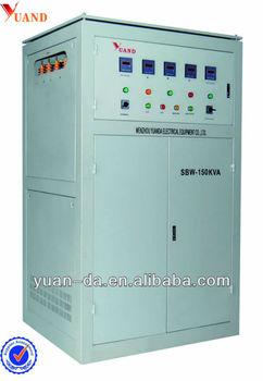 3 Phase Sbw Avr High Electric Power Type Servo Voltage Stabilizer ...