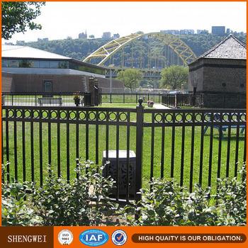 Steel Pipe Railing Fence,Galvanized Steel Picket Fence,Galvanized Steel  Pipe Fence - Buy Galvanized Steel Pipe Fence,Galvanized Steel Picket