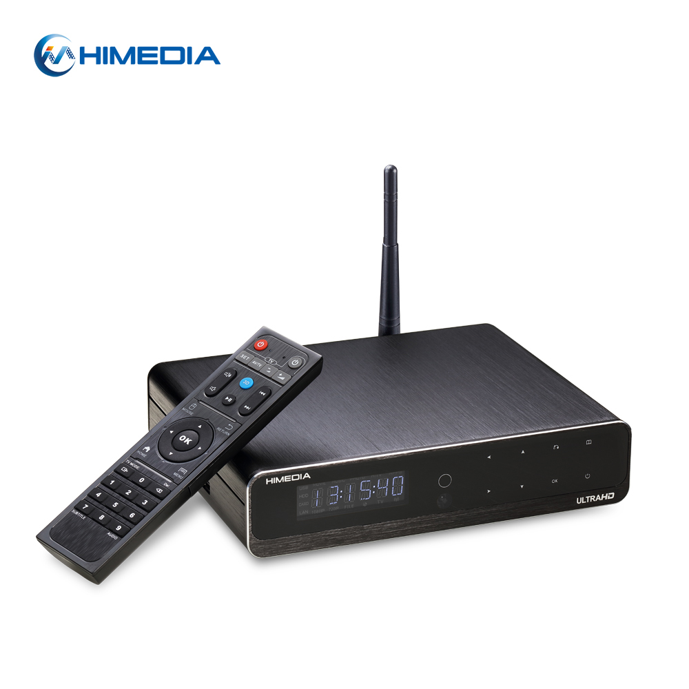 "2016 newest XBMC TV Box Support American channels 4K 60FPS HDR STB Airplay 3.5"" Hard Disk Bay 8TB internal HDD factory"