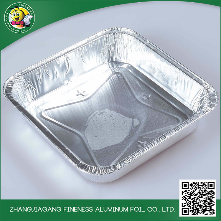 Kitchen Use Tray Aluminum Foil Container For Cake Baking