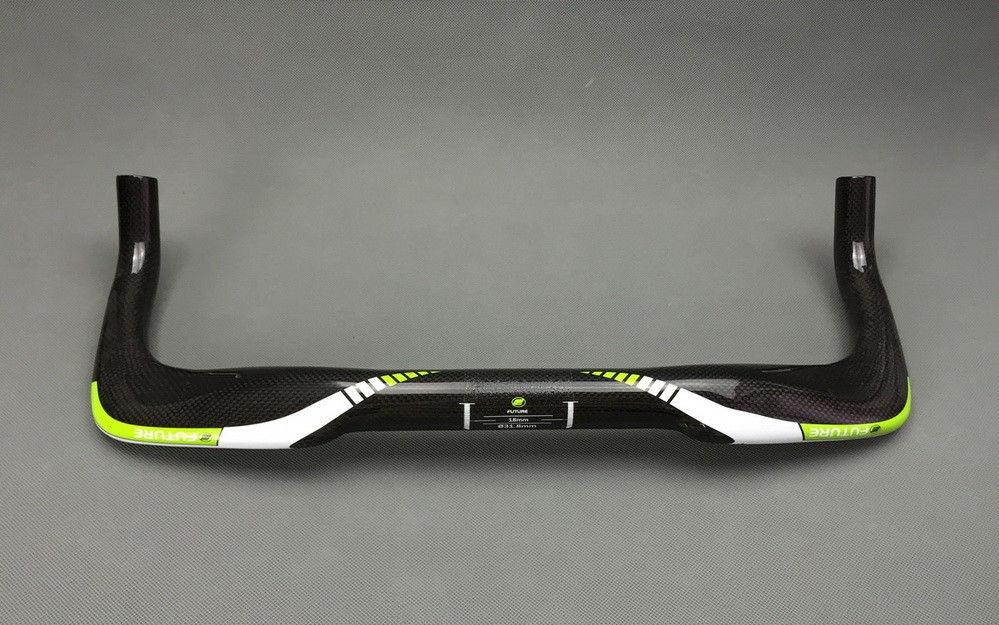 Carbon Road TT tri Base Bullhorn Bar Time Trial Handlebar 31.8*400//420//440//460mm